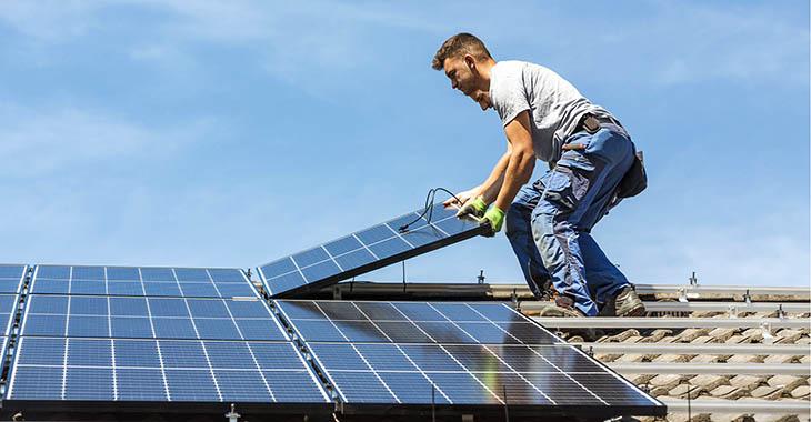 Panneaux solaires et nuages: rentable?